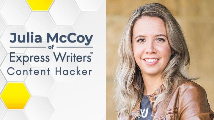 """Julia McCoy: """"Great Content Comes Down to the Time and Talent Involved"""""""