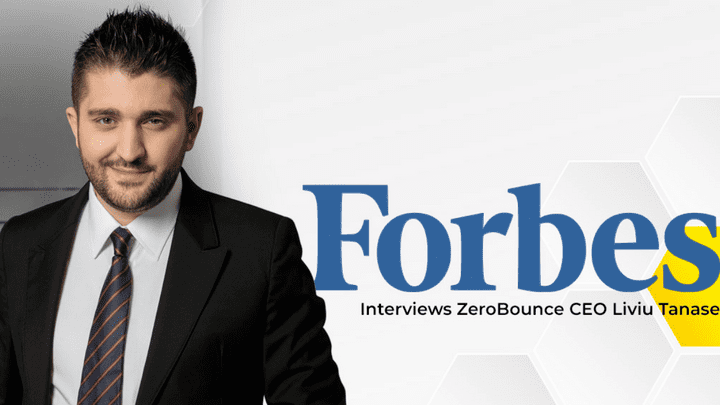 """No More Bananas"": ZeroBounce CEO Liviu Tanase Talks to Forbes About How He Manages Stress"