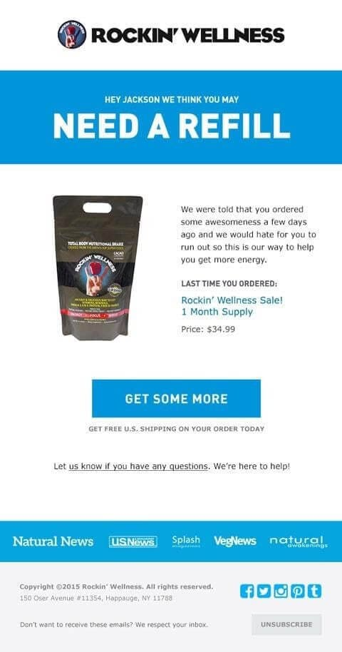 ecommerce emails examples
