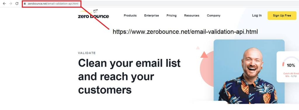 verify email lists