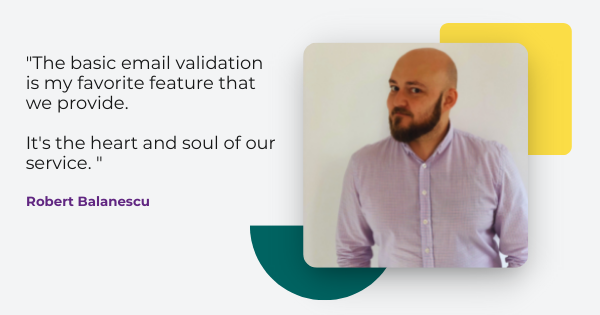 email validation features